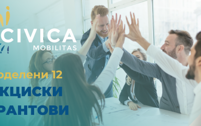 12 new actions supported by Civica Mobilitas